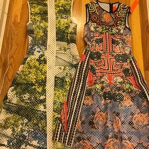 LOT OF 2 Clover Canyon Mesh Dresses Size XS